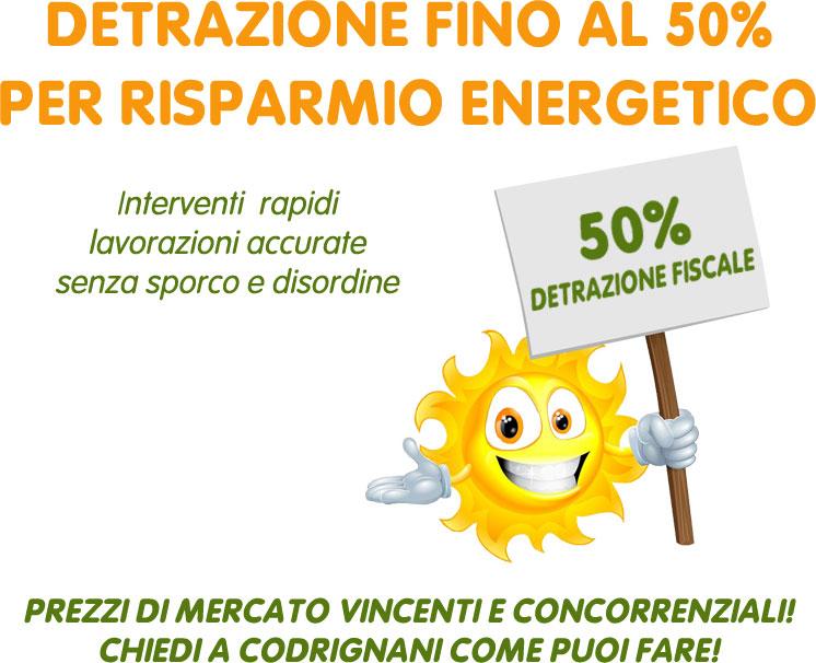 Codrignani milano lab store produzione e vendita - Detrazioni fiscali per risparmio energetico 2015 ...