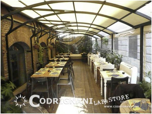 Giardino D Inverno Ristorante Milano : Produzione teli milano lavorazione impermeabili