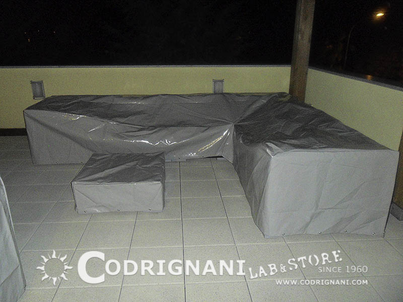 Telo copertura divano esterno modificare una pelliccia - Copertura lavatrice da esterno ...