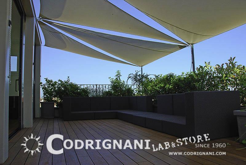 Tensostrutture e vele vendita produzione su misura - Serre per terrazzi ...